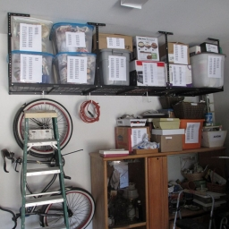 My fleximount solved 50% of the problem of space I had in my garage