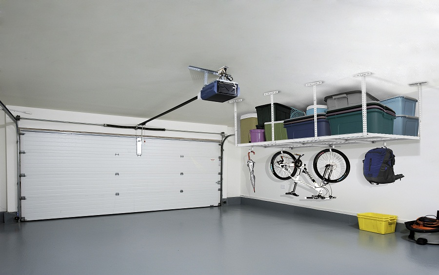 Use Fleximounts Overhead Garage To Save Space In Your