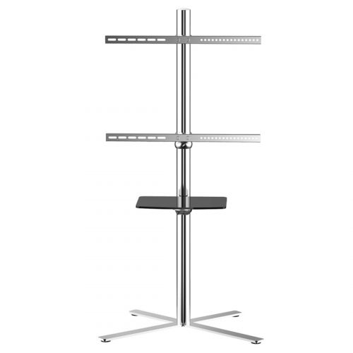 FLEXIMOUNTS C01 UNIVERSAL TV CART DVD SHELF FOR 32''-60'' up to  66 lbs TV STANDS