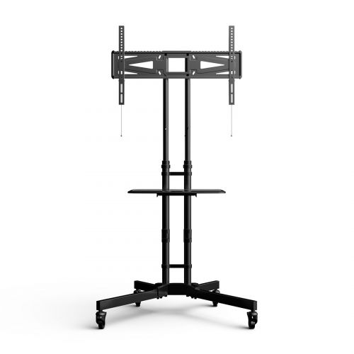 FLEXIMOUNTS C06 CLASSIC TV CART W DVD SHELF & WHEELS FOR 32''-65'' TVS TV STANDS Up to 88lbs