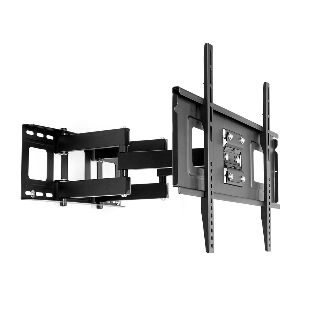 Fleximounts Cr1 Curved Led Lcd Tv Wall Mount Full Motion Bracket For 32 65 Up To 132lbs
