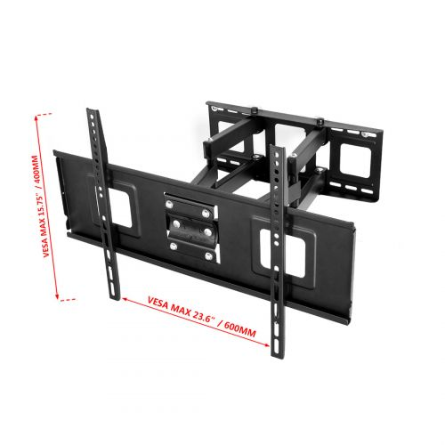 Cr1 Curved Tv Wall Mount For 32 65 Fleximounts