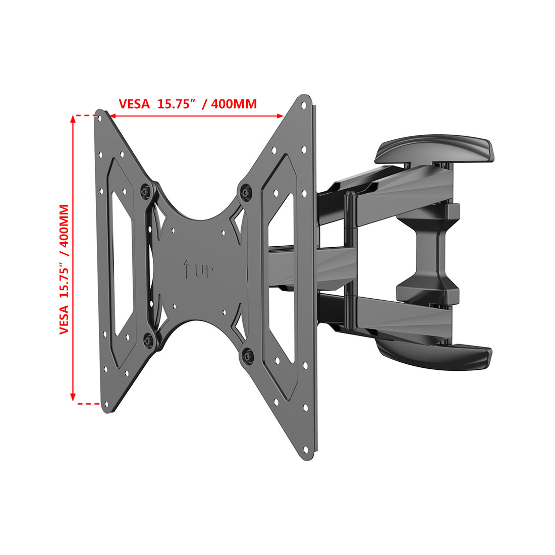 fleximounts full motion tv mount bracket for up to 99lbs - Tv Mount