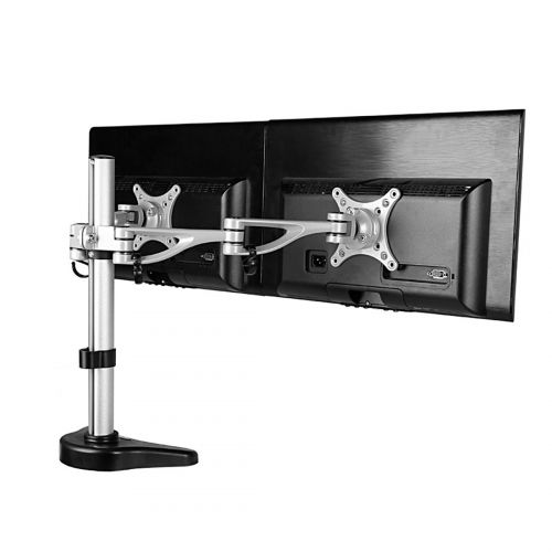 FLEXIMOUNTS M13 DUAL ARM MONITOR DESK MOUNT LCD ARM (10-27, 3.3-17.6 LBS) (9)