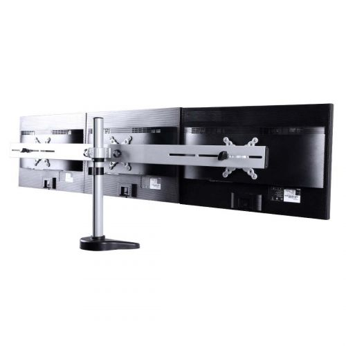 FLEXIMOUNTS M15 TRIPLE LCD ARM DESK MONITOR MOUNT (10-27, MAX