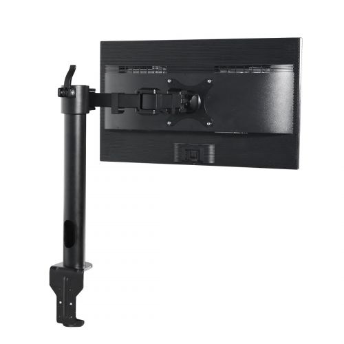 Fleximounts Articulating Single Monitor Mount for 10-27 Screens up to 22 lbs