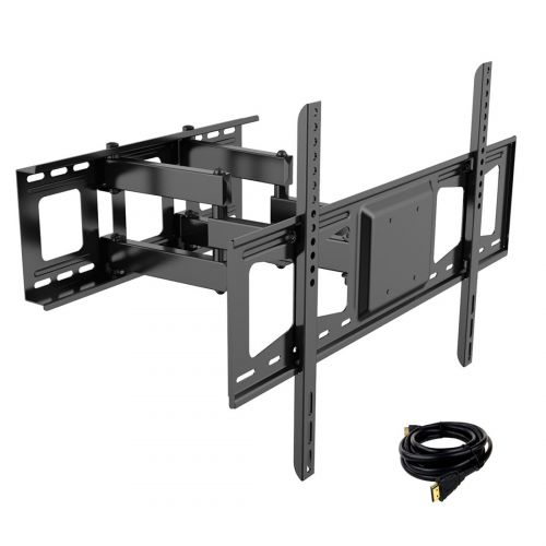Fleximounts V3 Full Motion TV Wall Mount Bracket for LCDLEDHD TV(32-65, max. 132lbs) (6)