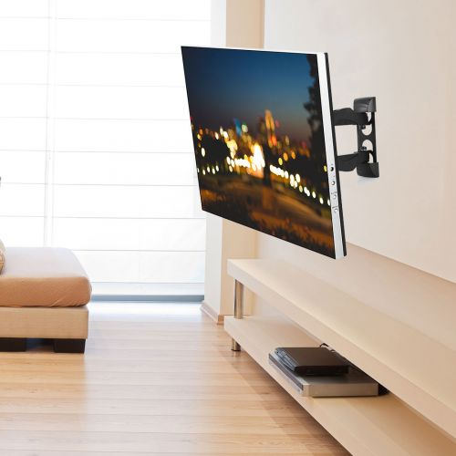 wall mount tv ideas for living room a02 motion tv mount for 26 42 fleximounts 27145