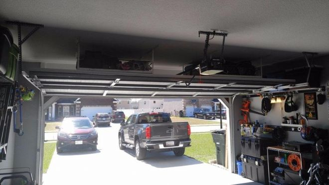 4x4 Overhead Storage Rack