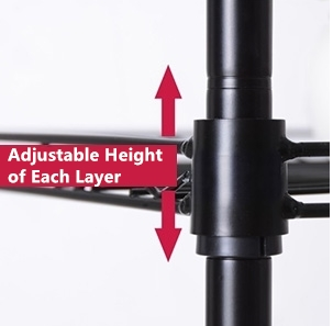 Adjustable Height of Each Layer